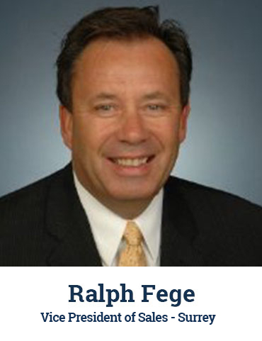 Ralph Fege, Regional Vice President, Surrey - headshot